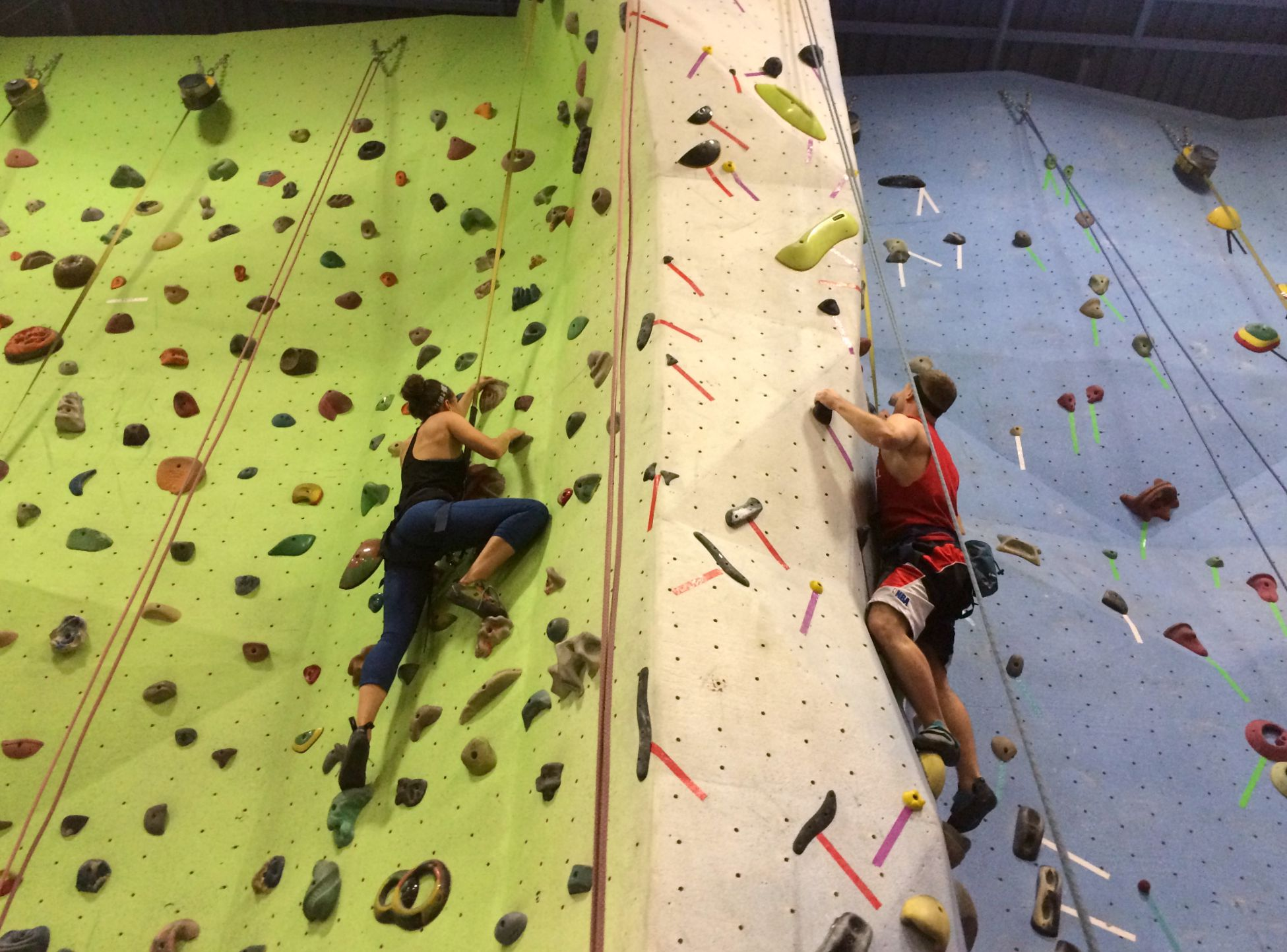 My First Real Rock Climbing Experience at Planet Rock.