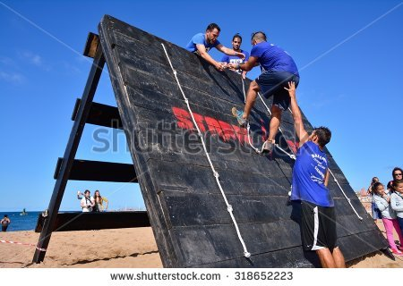 Obstacle Course Stock Photos, Royalty.