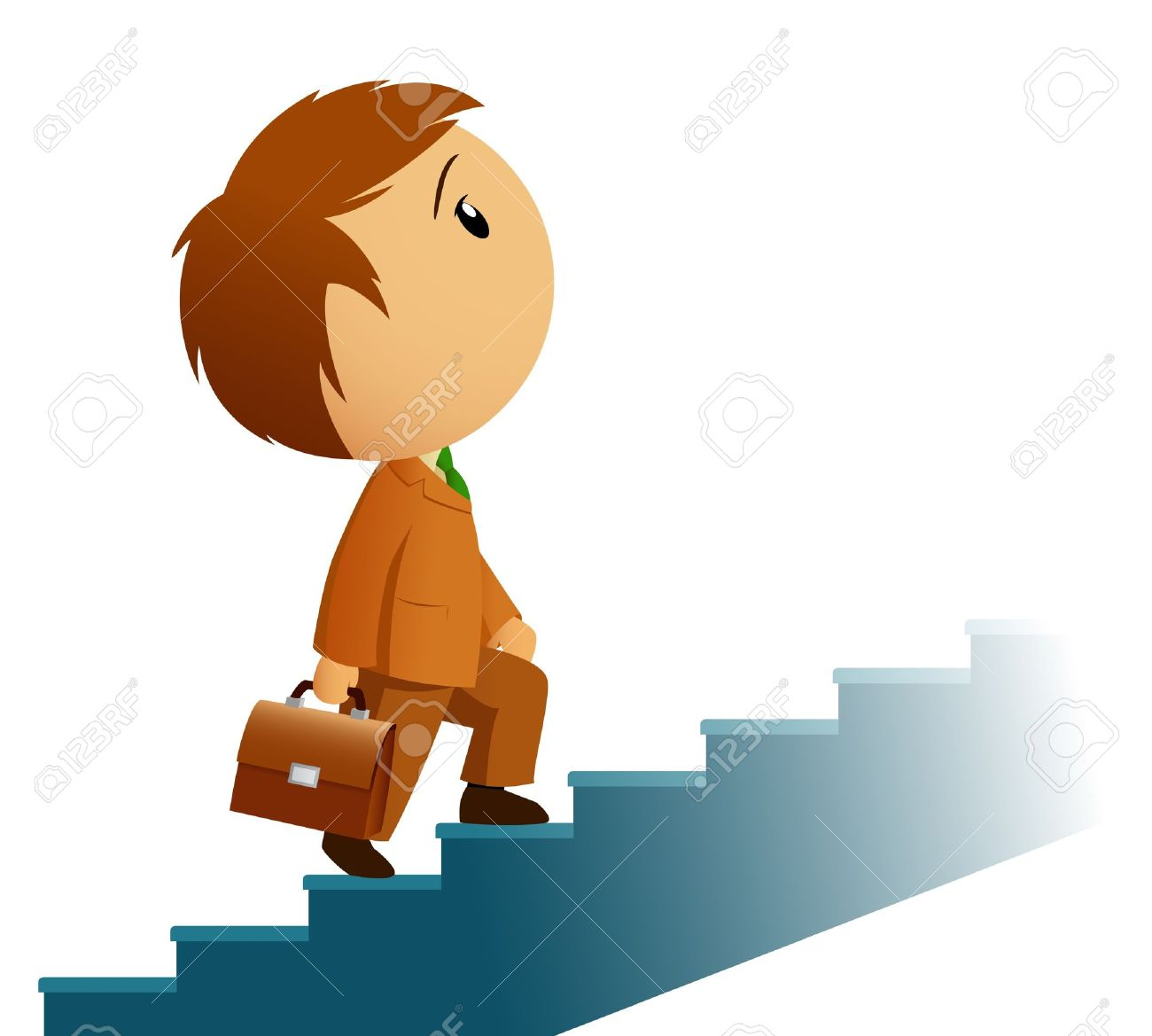 Climbing stairs clipart 5 » Clipart Station.