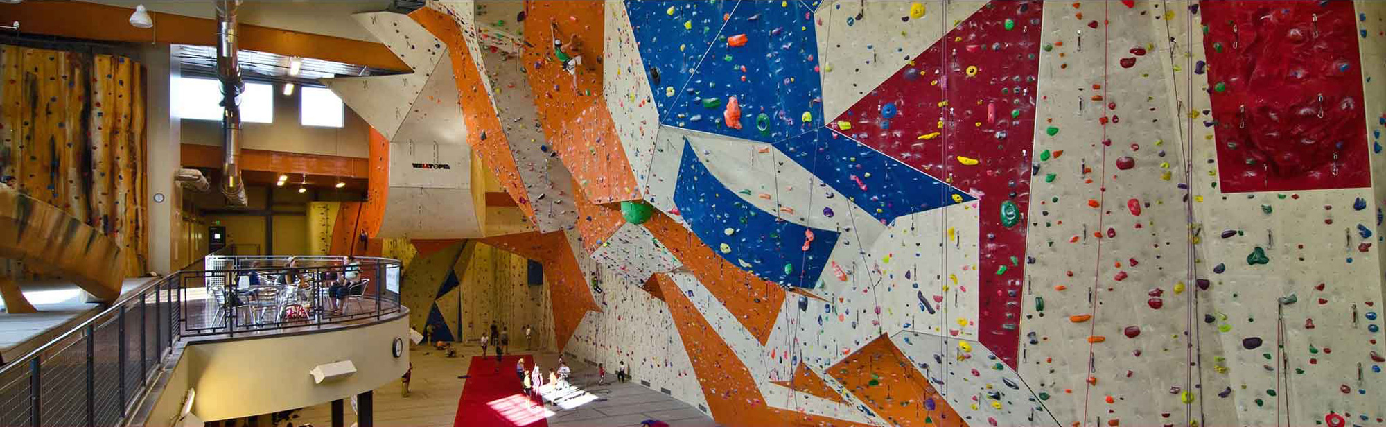 Stone Summit Climbing and Fitness Gyms.