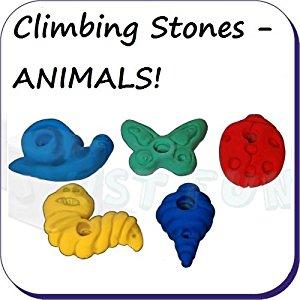 Set of 5 Climbing Stones.