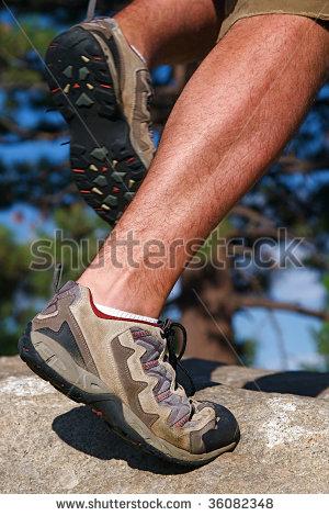 Mountain Shoes Stock Photos, Royalty.