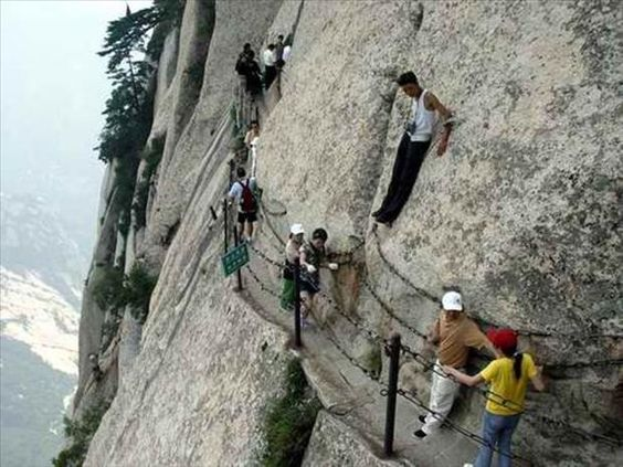 The Most Dangerous Hiking Trail Ever.