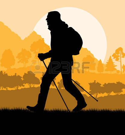 1,610 Walking Trail Cliparts, Stock Vector And Royalty Free.