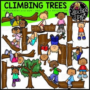 Climbing Trees Clip Art Bundle {Educlips Clipart} in 2019.