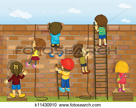 Climbing wall Clipart Royalty Free. 537 climbing wall clip art.