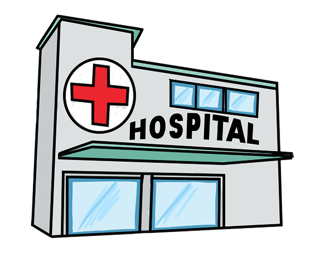 Clip Art Hospital Clinic Sign Clipart.