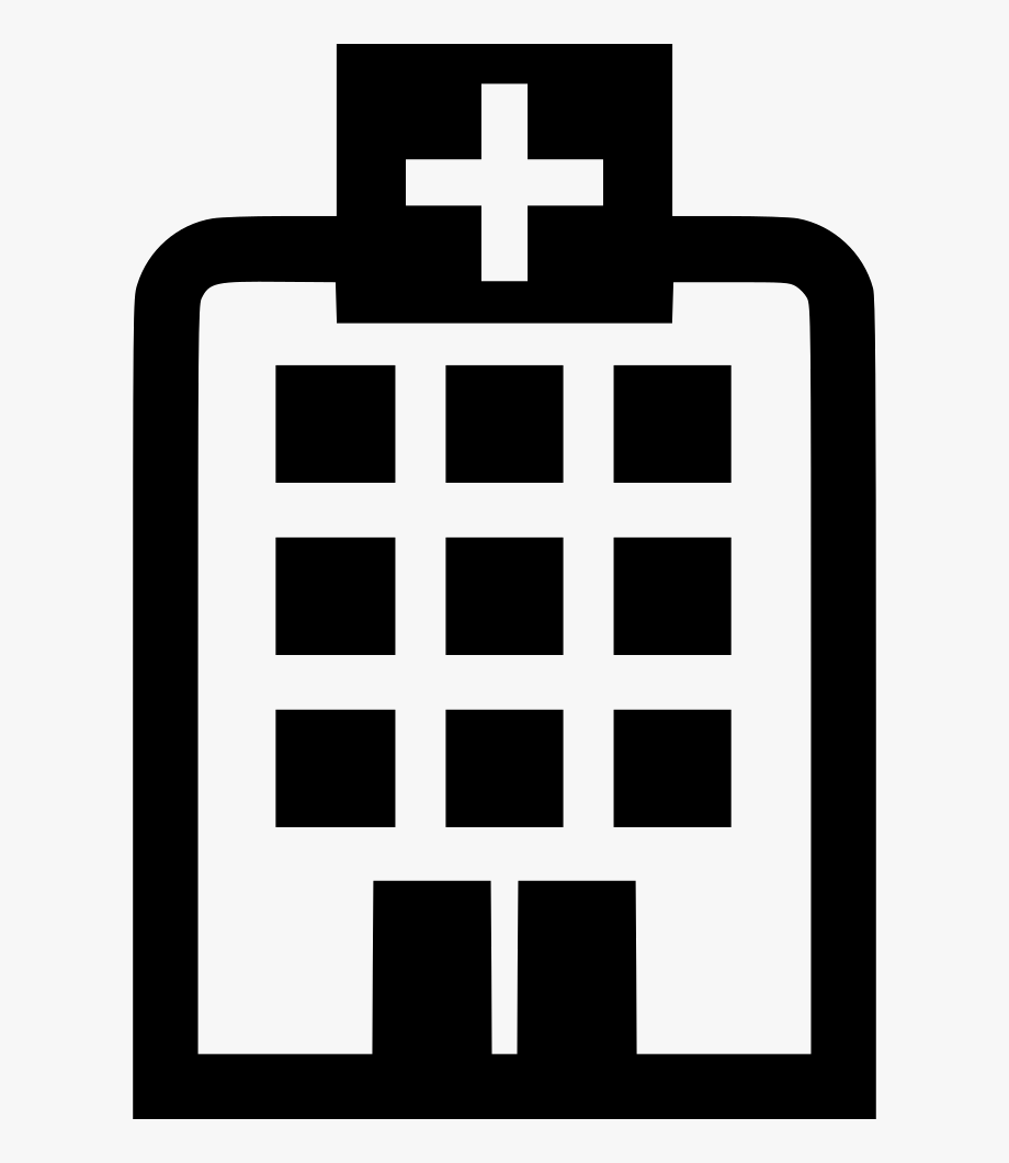 Building Medical Clinic Svg Png Icon Free.