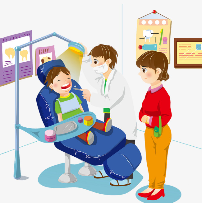 Dentist Clinic Clipart Oral Examination PNG Image Marvelous.