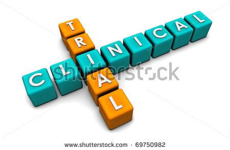 Clinical trial clipart.