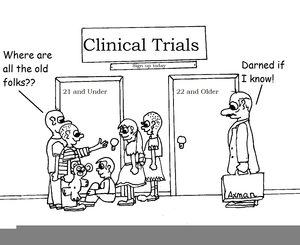 Clinical Trial Clipart.