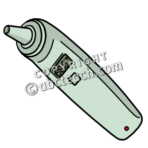 Medical Thermometer Clipart.