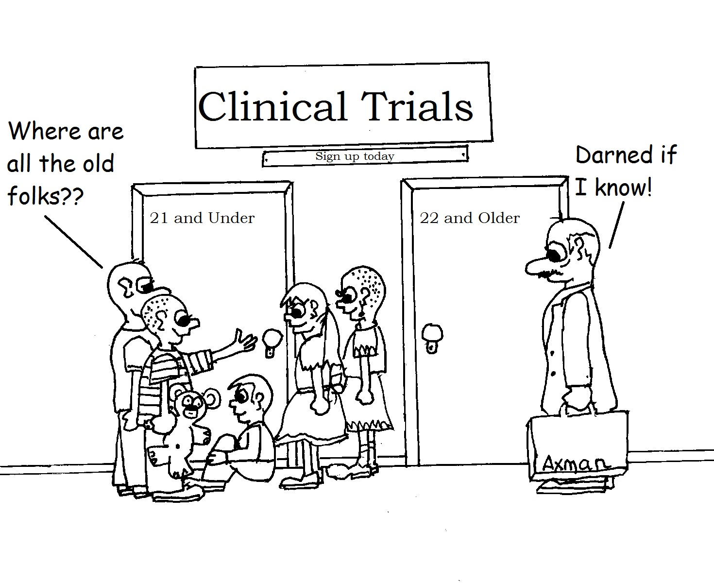 Cancer Clinical Trials: Clinical Trials in Cartoons.