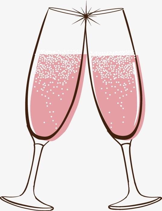 Wine glasses clinking clipart 6 » Clipart Portal.