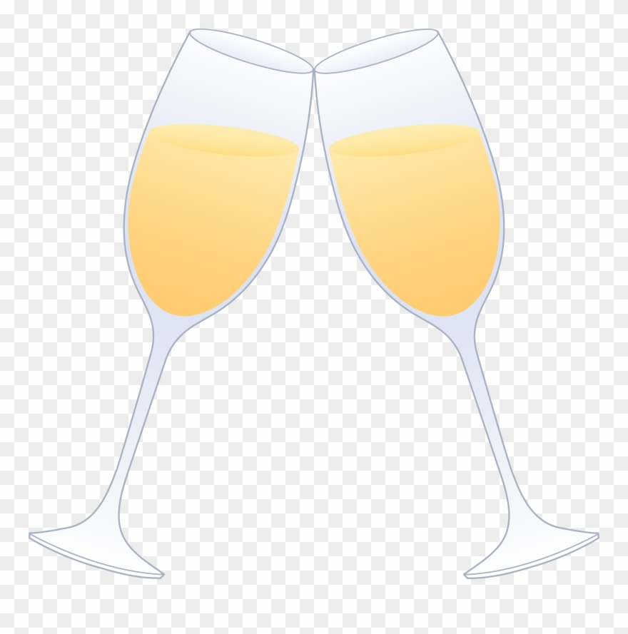 Cheers Clipart Champagne Glass.