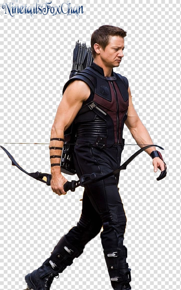 Jeremy Renner Clint Barton Black Widow The Avengers New York City.