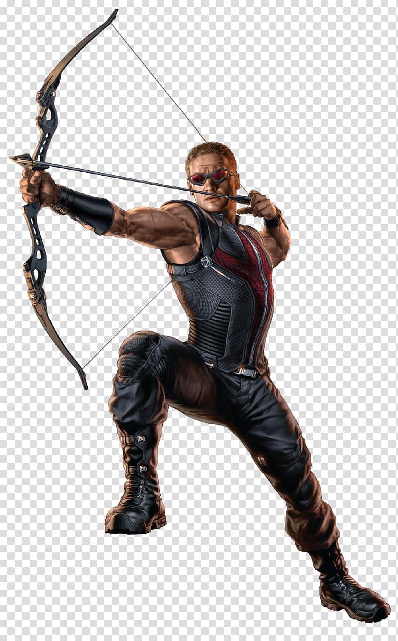 Clint Barton Black Widow Nebula Marvel Comics, Hawkeye transparent.
