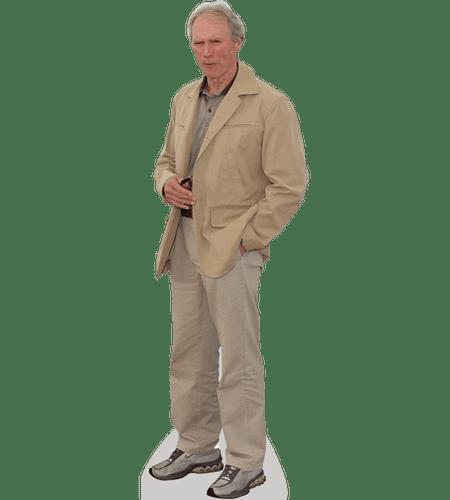 Clint Eastwood Cardboard Cutout.