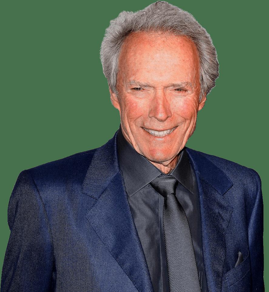 Clint Eastwood transparent background image.