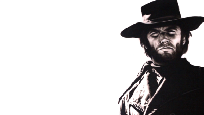 Paul Karslake Clint Eastwood Painting PNG.