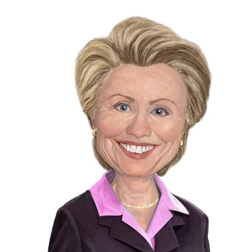 Free Hillary Clinton Clip Art.