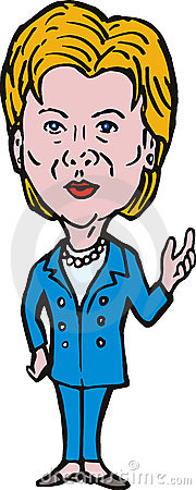 Hillary clinton clipart.