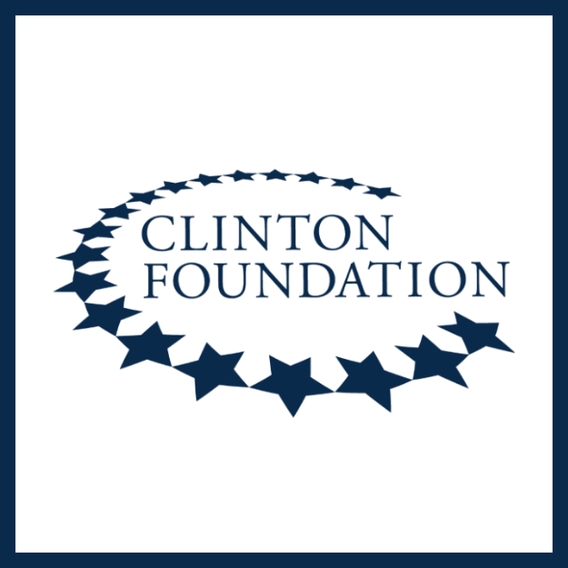 The Clinton Foundation.