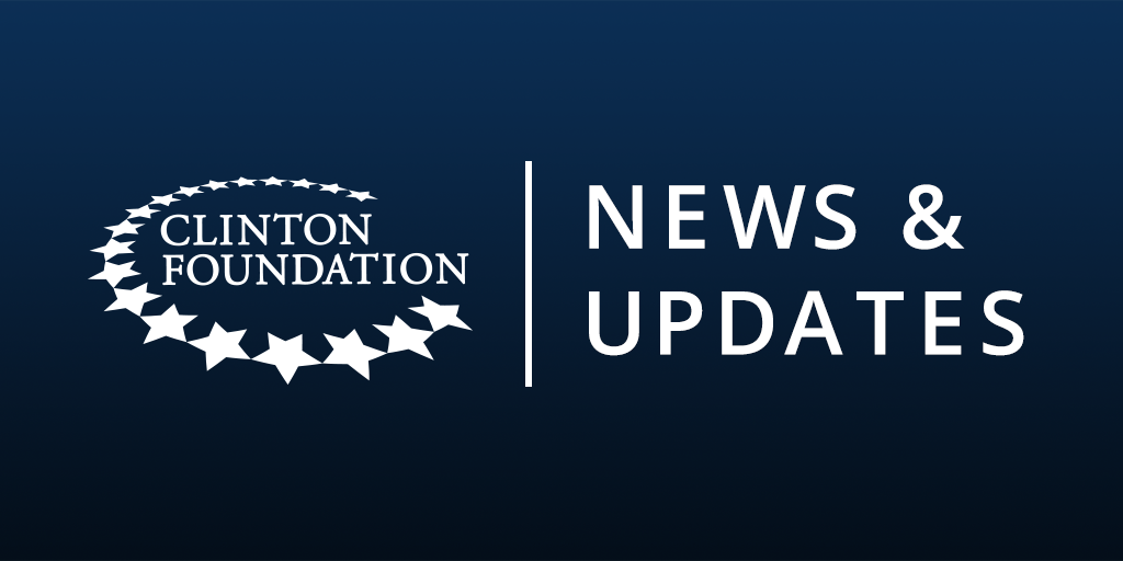 President Clinton, Secretary Clinton Announce 29 New Projects for.