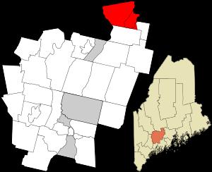 Clinton, Maine.