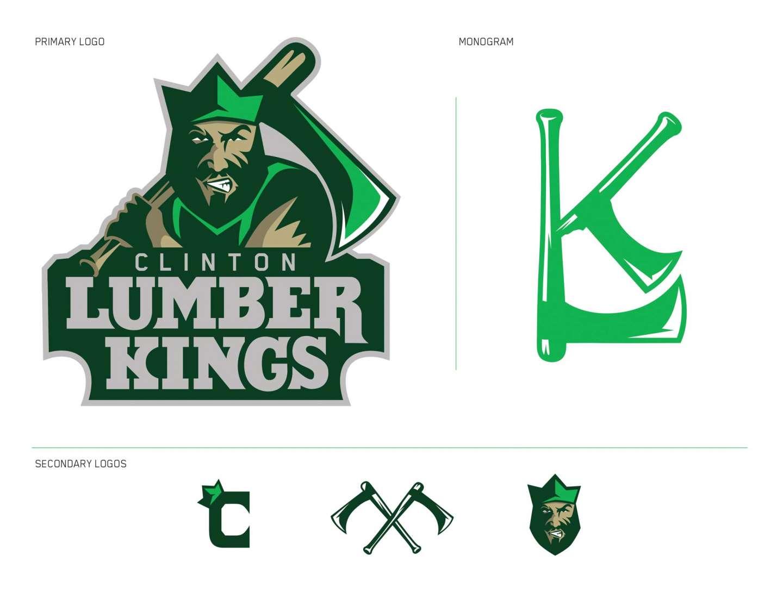 Clinton Lumberkings: Sports Branding by Jacob Cotov.
