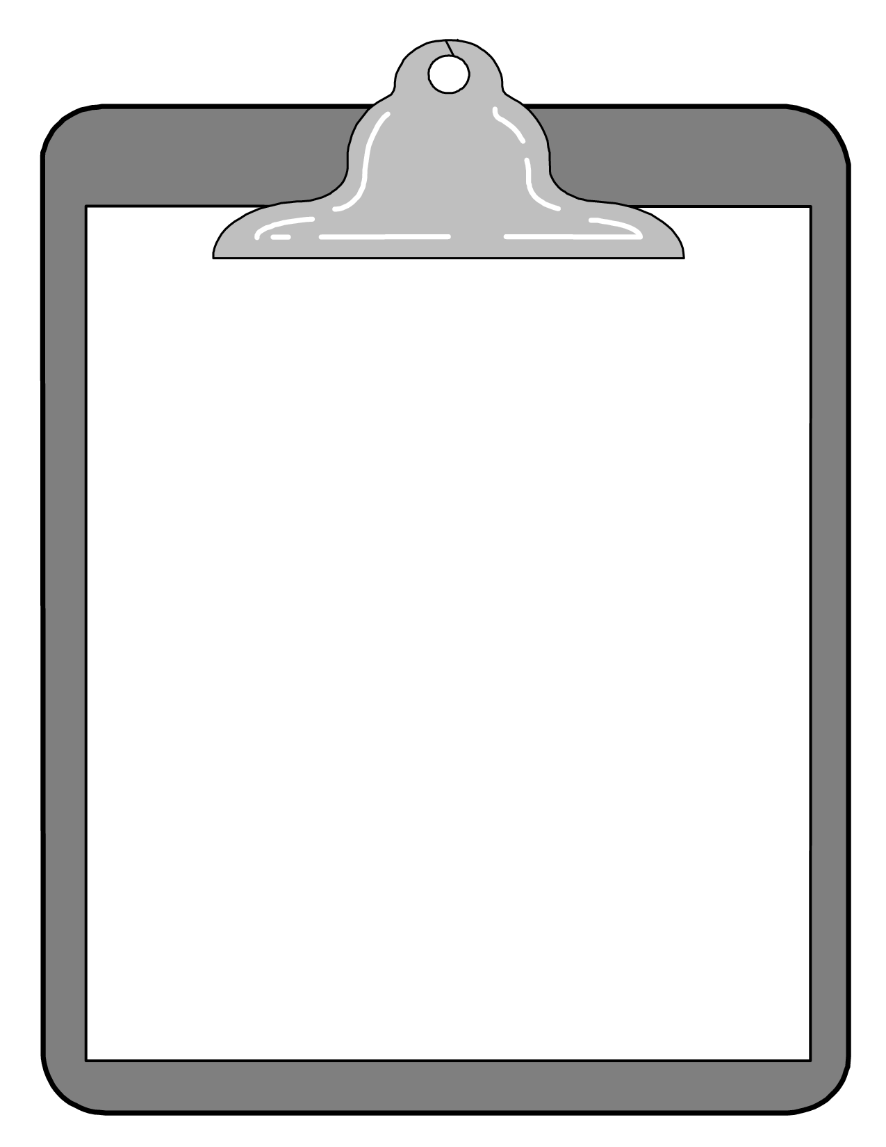 Clipboard Clip Art Green free image.