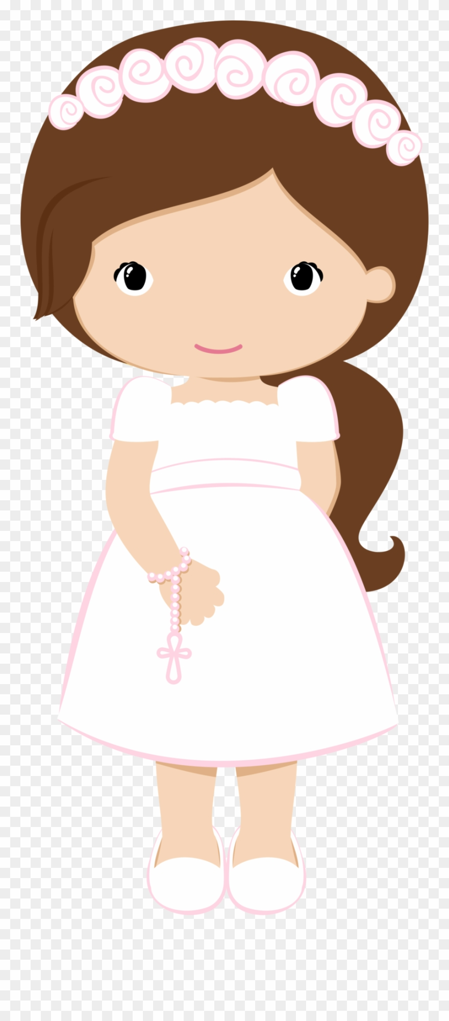 Clip Art Black And White Stock 1st Communion Clipart.