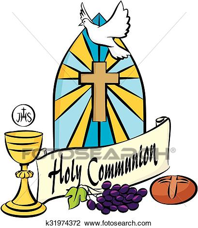 My first holy communion Clipart.