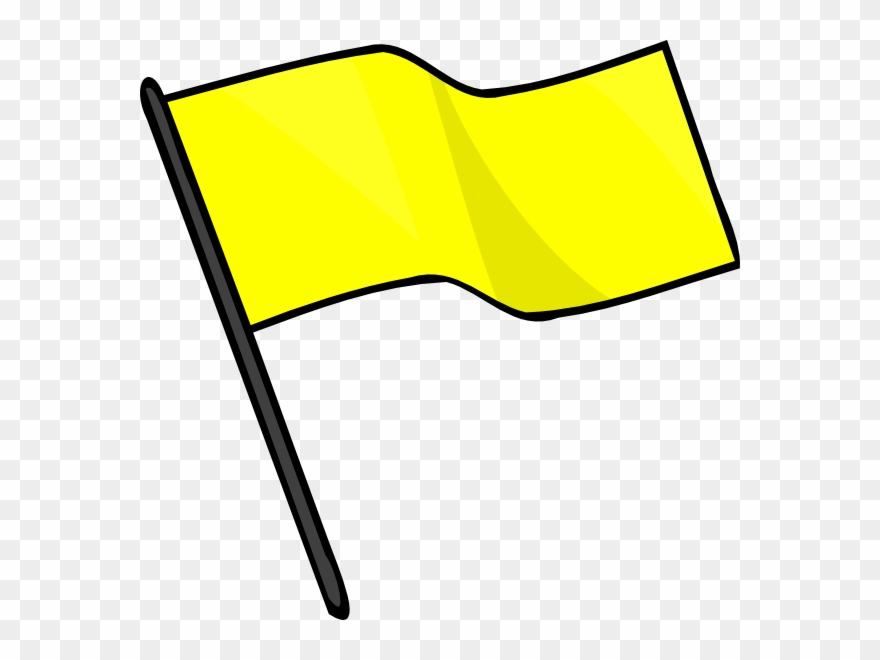 Yellow Flags Clipart 2 By Joe.