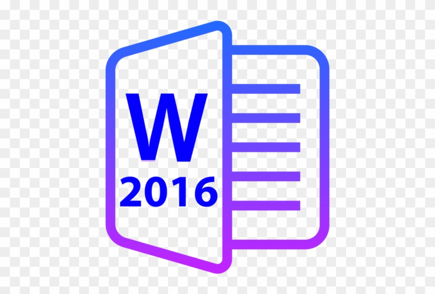 For Ms Word 2016 4.