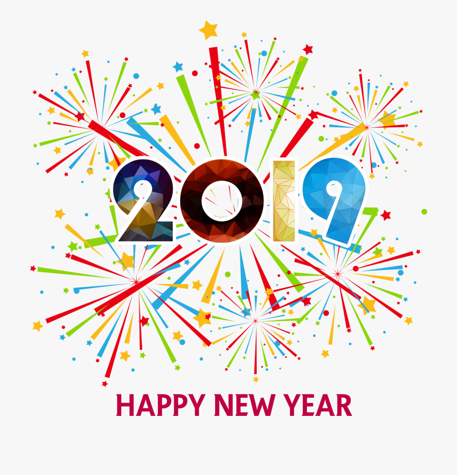 New Years Firework Clipart 2018 #141652.