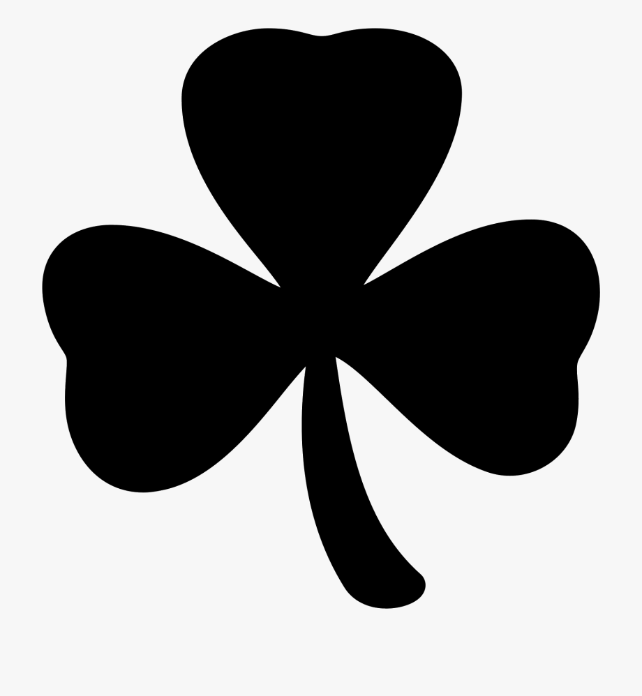 Trend White Four Leaf Clover Png, Picture.