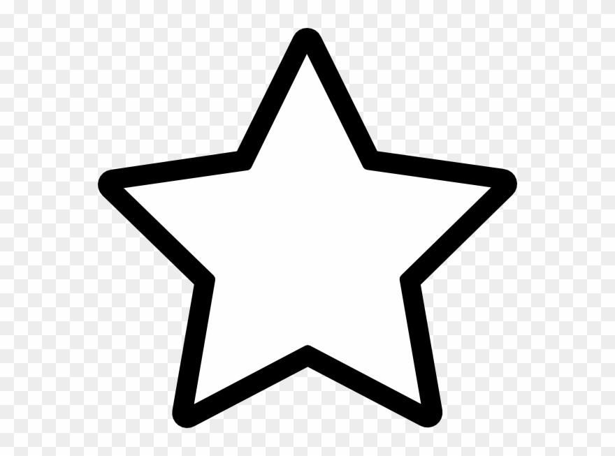 Large White Star Clip Art.