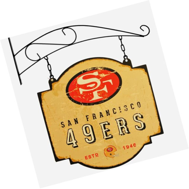 San Francisco 49ers Official NFL Tavern Signs by Winning Streak 112131.