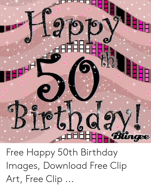 Free Happy 50th Birthday Images Download Free Clip Art Free Clip.