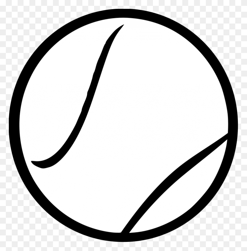 Ball Clipart Line Art.