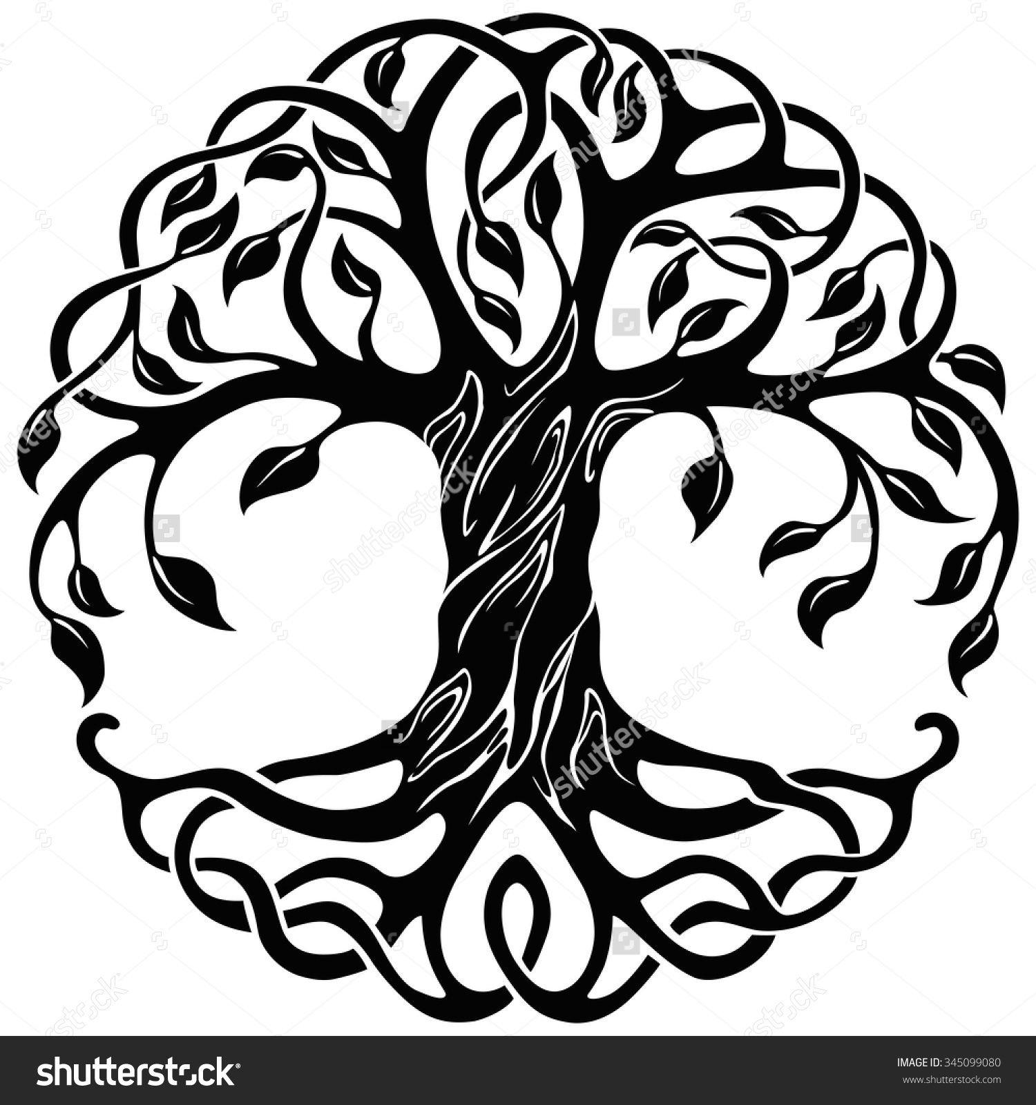 Celtic Tree Of Life Stock Photos, Images, & Pictures.
