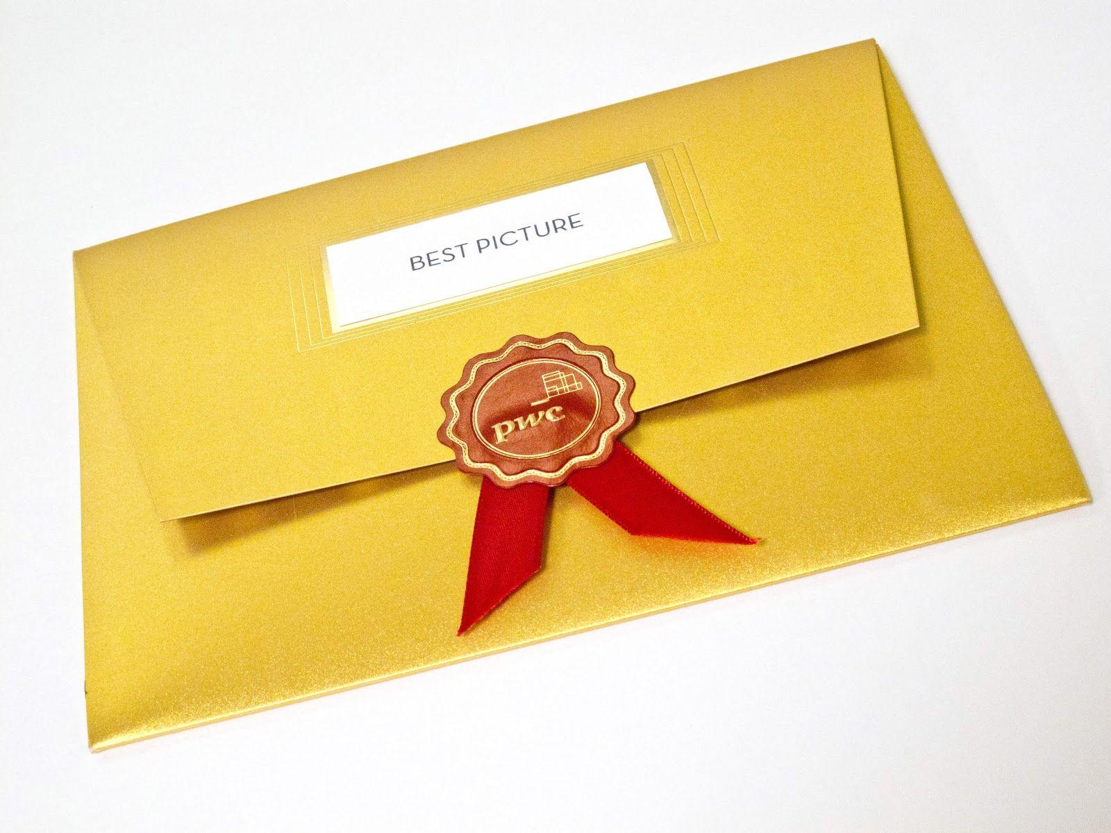 Academy Awards Envelope Clipart.