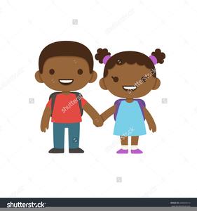 Clipart African American Children.