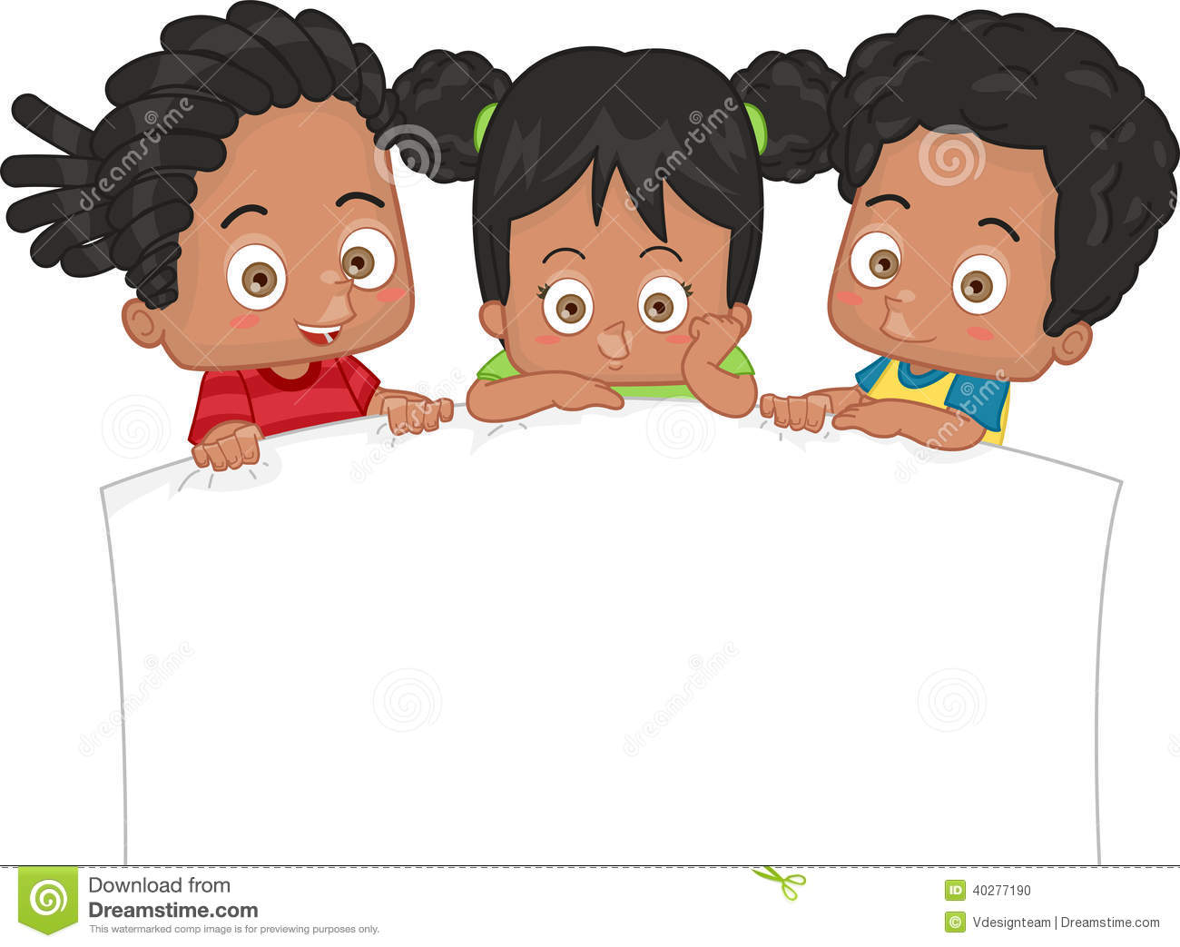 African american kids clipart 4 » Clipart Station.