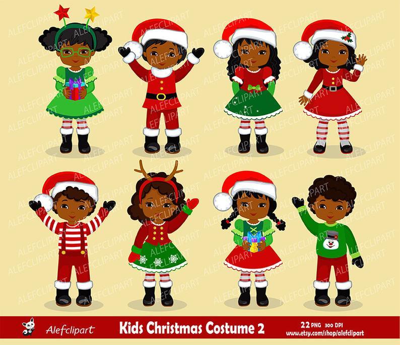 Christmas Kids African American / Children.