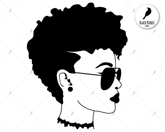 Black afro clipart PNG and cliparts for Free Download.