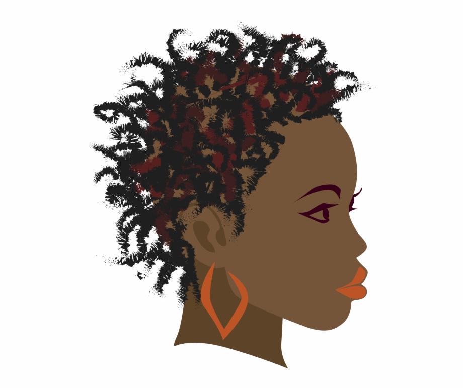 Africa Braid Black Girl Clip Art.