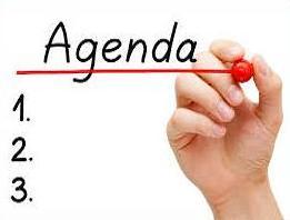 Free Agenda Clipart.