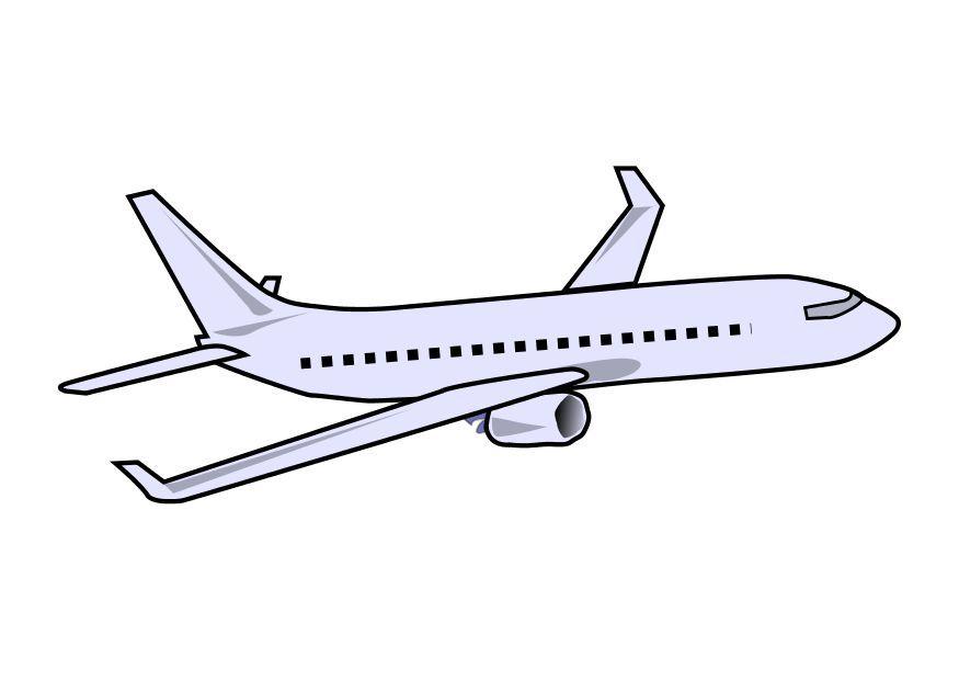 Airplane plane clipart kid 2.